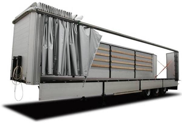 Сдвижная крыша на грузовой автомобиль